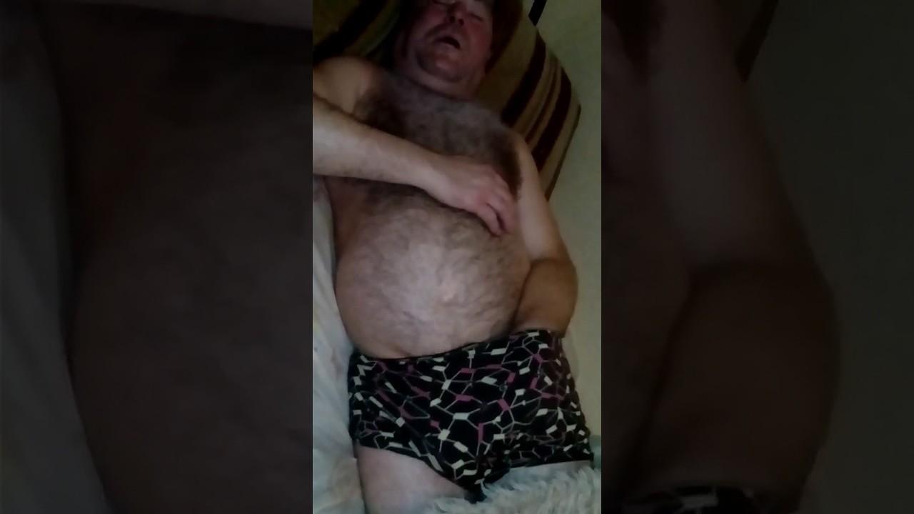 Старый дед мастурбация