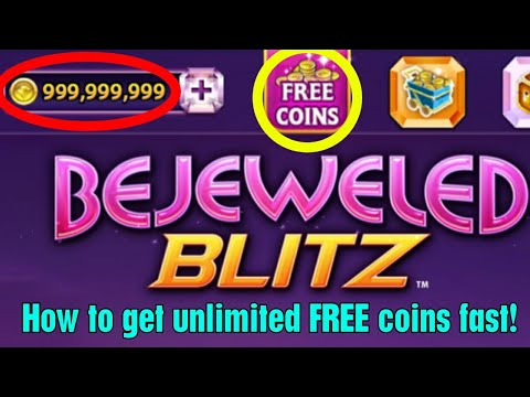 How to get unlimited free coins for Bejeweled Blitz (Android only, no cheat, no hack, fast and easy)