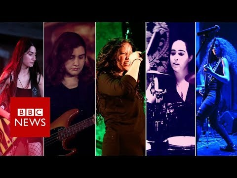 All-female heavy metal band in Lebanon - BBC News