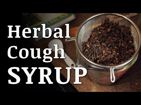Herbal COUGH SYRUP Remedy