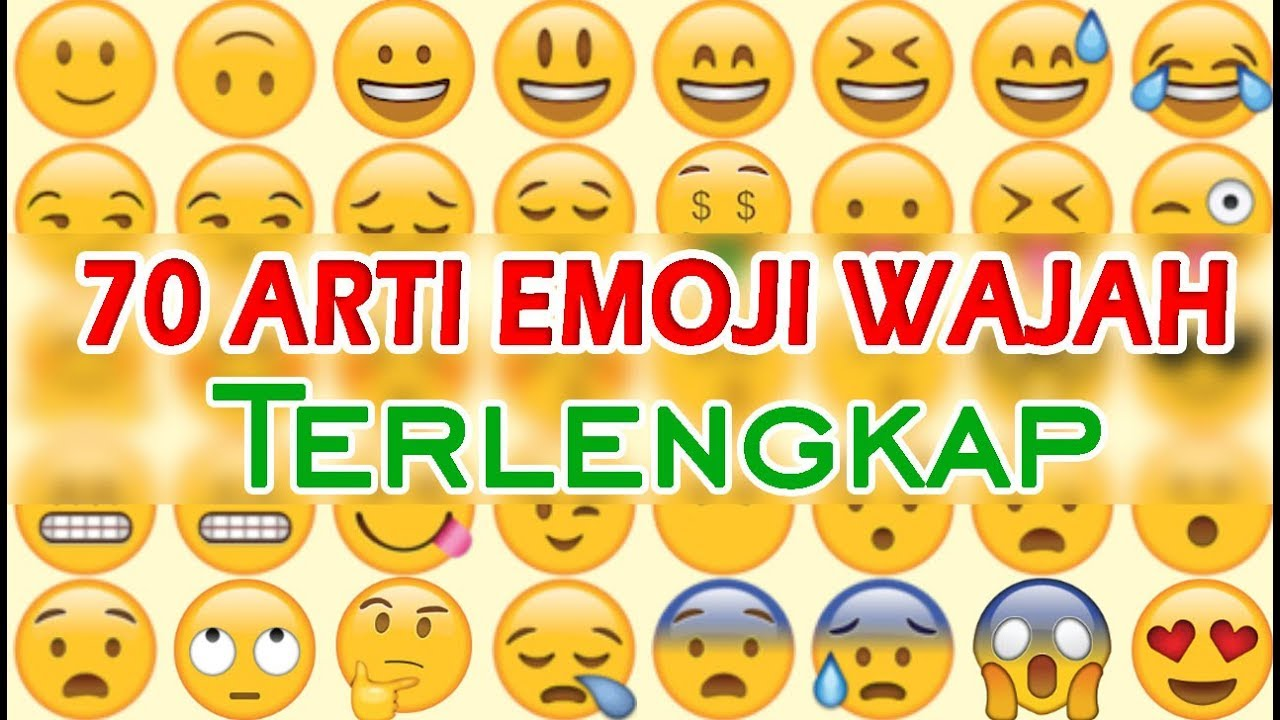 70 Arti Emoji Whatsapp Wajah Terlengkap | Jangan Sampai Keliru Pake!