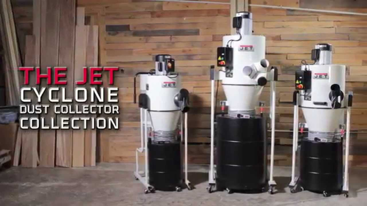 Jet Cyclone Dust Collectors Overview Youtube