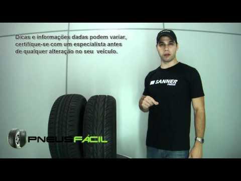 Posso colocar pneu 195/60R15 no VW SpaceFox qual tem pneu original 195/55R15?