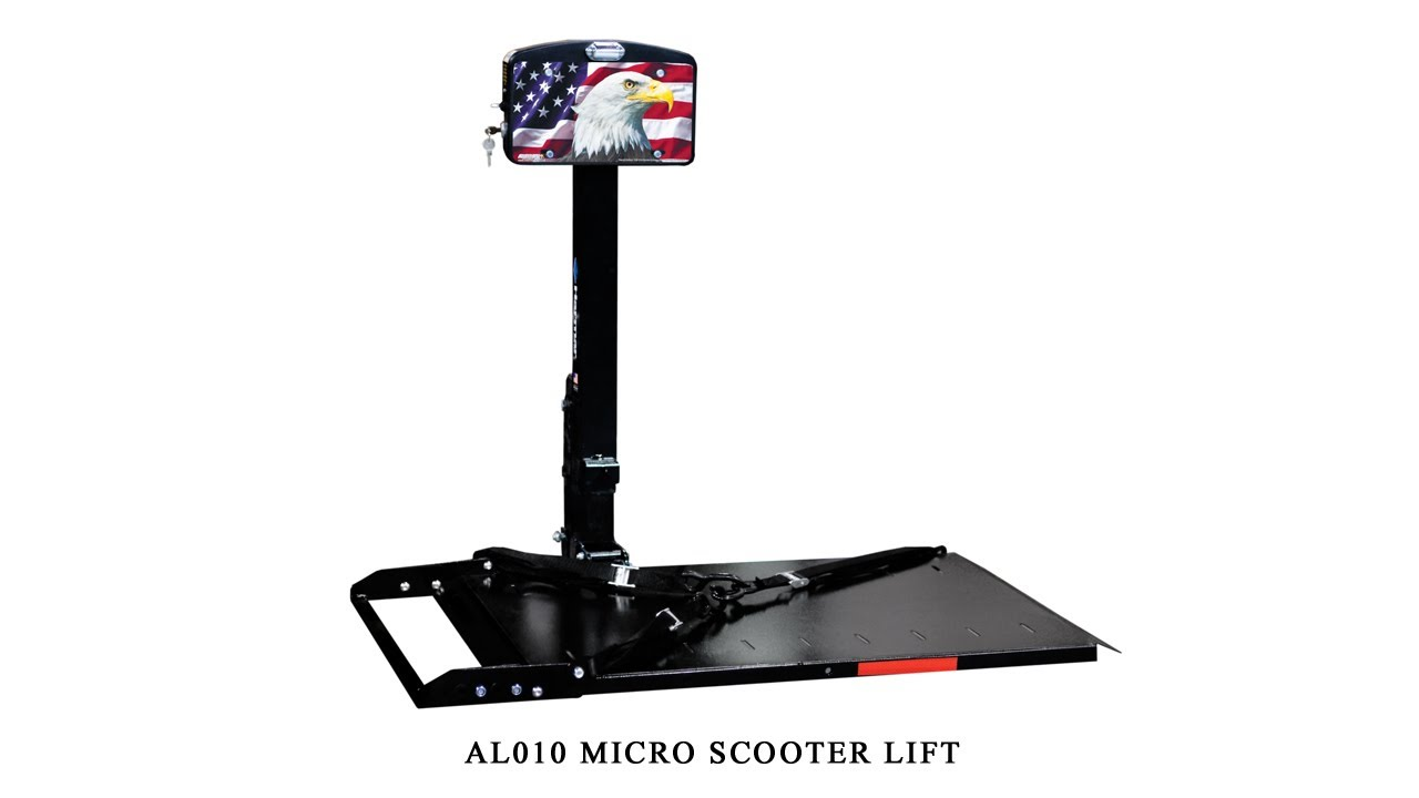 Harmar AL010 Micro Scooter Lift Installation Guide on