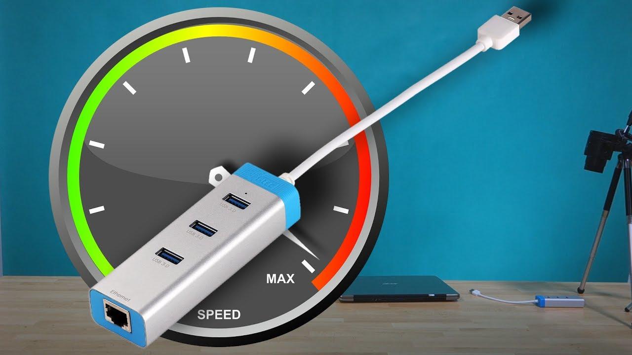 itec usb 3 0 gigabit ethernet adapter 3 port usb 3 0 hub u3glan3hub speed test esky. Black Bedroom Furniture Sets. Home Design Ideas