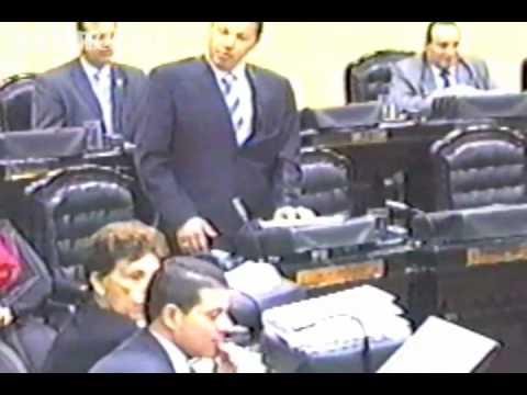 Pleito en la Asamblea Legislativa de Costa Rica