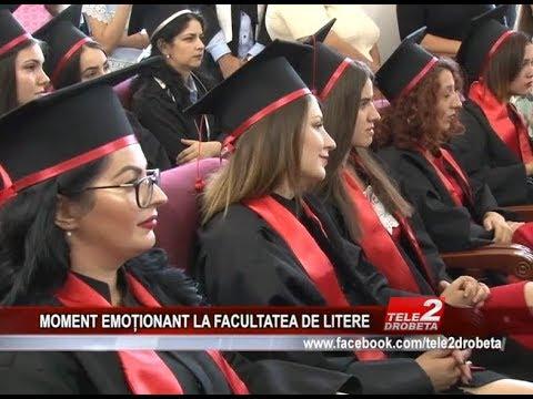 MOMENT EMOTIONANT LA FACULTATEA DE LITERE
