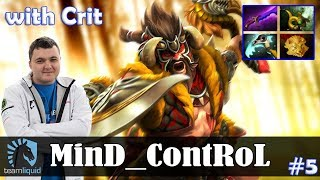 MinD_ContRoL - Beastmaster Offlane | with Crit (Earthshaker) | Dota 2 Pro MMR Gameplay #5