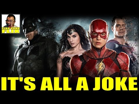 IT'S ALL A JOKE – Aquaman China Release, Flash Pushed Back,