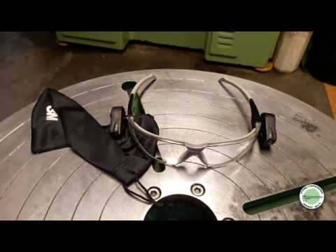 Защитные очки 3M LED Light Vision