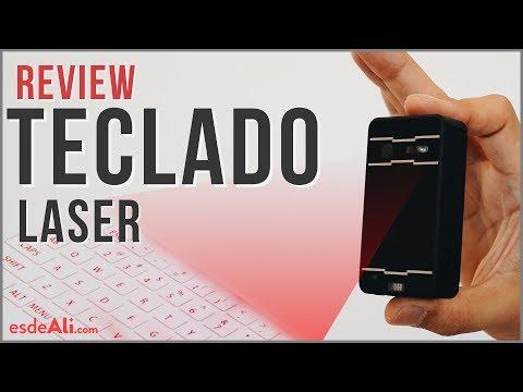 Teclado de Proyección Laser | Tecnología de Última Generación a tu Alcance | Review en Español