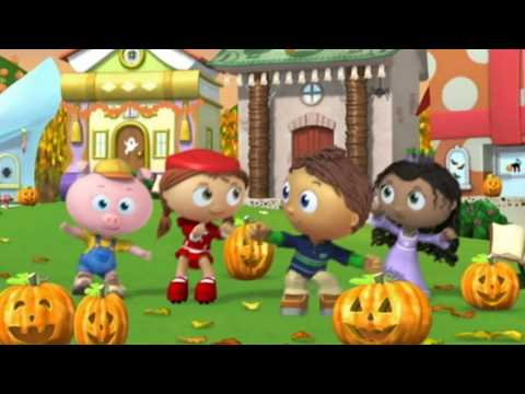 Super Why! Halloween Jigsaw Hip Hip Hooray Super Readers Save the Day!
