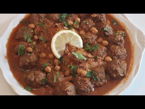 tajine-boulettes-de-viande-hachée(mtawam-algÉrien)