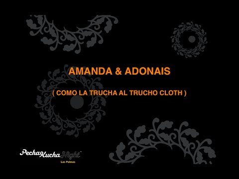 Como la trucha al trucho cloth_Adonais & Amanda