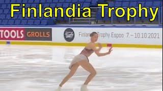 Finlandia Trophy Валиева ЧЕТВЕРНЫЕ Косторная ТРОЙНОЙ АКСЕЛЬ Туктамышева УПАЛА