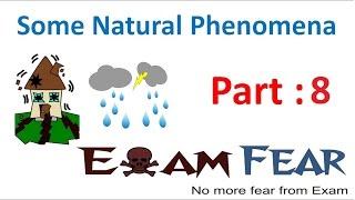 Physics Natural Phenomena Part 8 (Cause of Lightning) Class 8  VIII