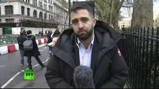Прямой эфир телеканала RT в связи со стрельбой у здания парламента в Лондоне