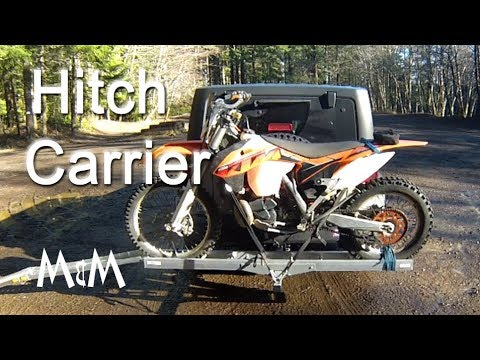 Motorcycle Hitch Carrier on Jeep Review