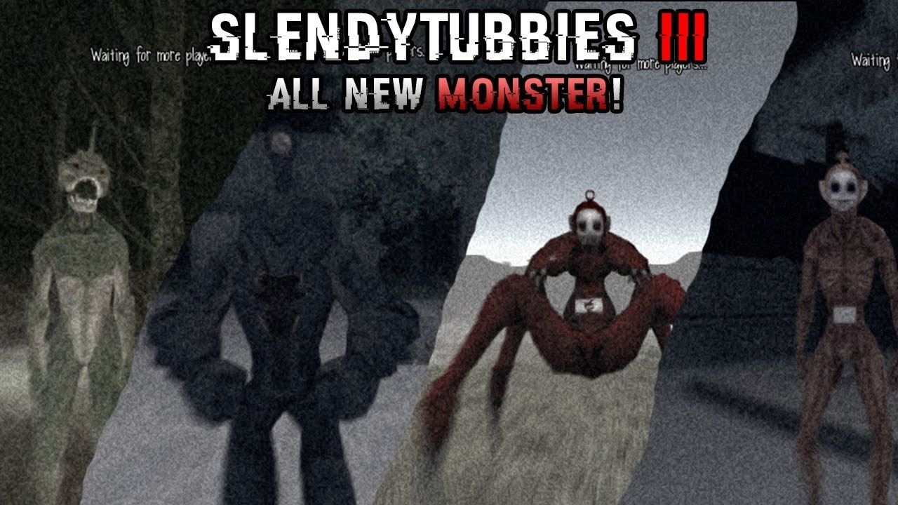 All Monsters 3 All Slendytubbies