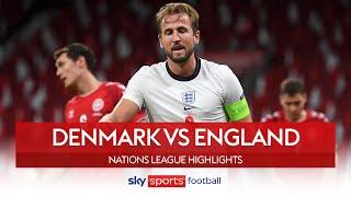 Jorgensen goal-line clearance denies England win! | Denmark 0-0 England | Nations League Highlights