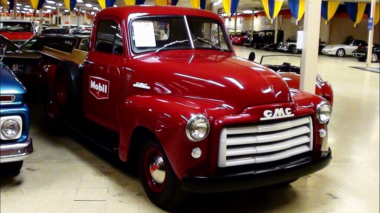 1952 GMC Pickup - Nicely Restored Original - YouTube