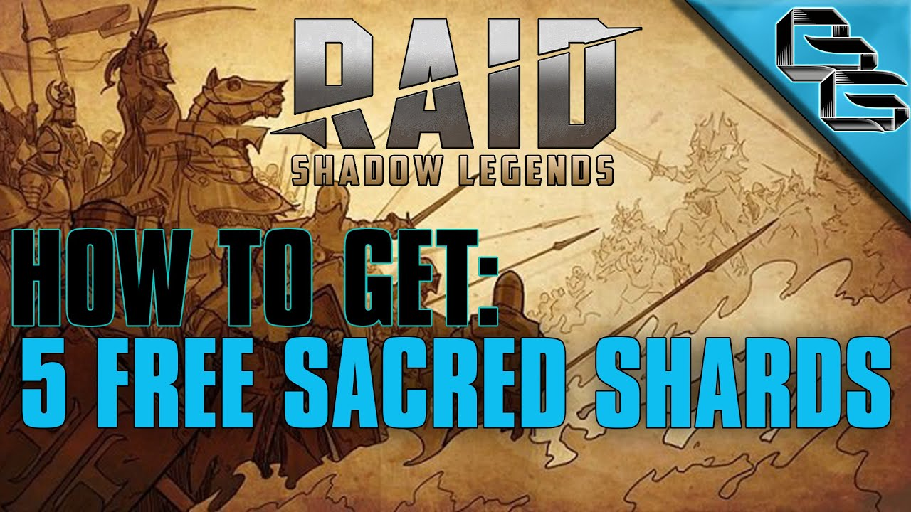 RAID: Shadow Legends | How to get 5 FREE Sacred Shards in 35 Days !! | F2P