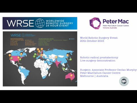 Live robotic prostatectomy: WRSE Live Surgery Event Oct 15