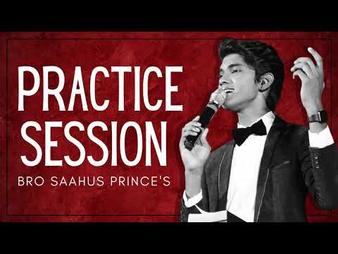 Saahus Prince Practice Session | Calvary Temple | Saahus ...
