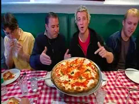"""A Slice of Brooklyn Pizza Tour"" on Australia's Getaway travel program with host Jules Lund"