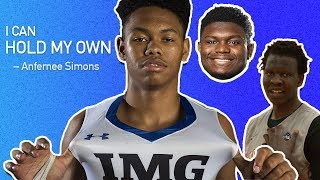 """""""Good For Him."""" Zion Williamson, Bol Bol & More React To Anfernee Simons Going From HS To The NBA 🔥"""