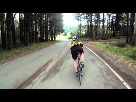 gopro camera: 60 mph (~100 km/h) on a road bike