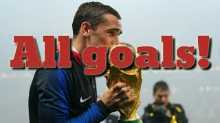 Fifa 2018 world cup!  All 169 goals!!