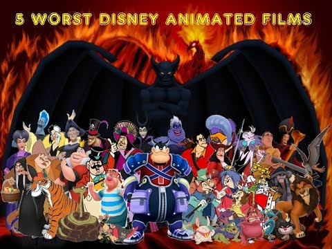 5 Worst Disney Animated Films