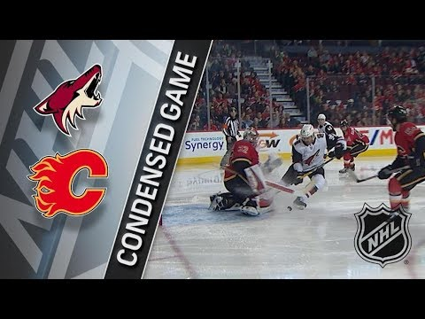 Arizona Coyotes vs Calgary Flames – Apr. 03, 2018 | Game Highlights | NHL 2017/18. Обзор