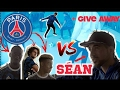 PSG PLAYERS CAN BEAT ME ? panna battle + give away