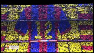 Fc barcelona anthem live at camp nou ...