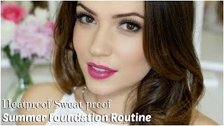 Heatproof/Sweat-proof Foundation Routine | Full Coverage