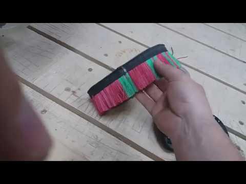 Щётка для удаления стружки для ЧПУ