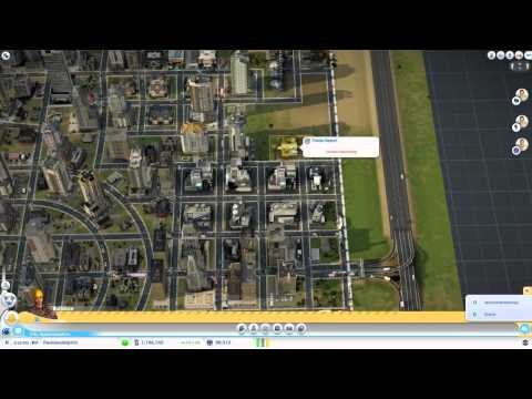 SimCity Part 13 - Trade Depot and Water Fix - Peadee's Sim City Let's Play- Peadee Games