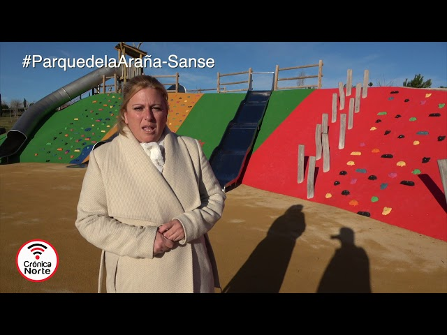 Remodelación de la zona infantil del Parque de la Araña en Sanse