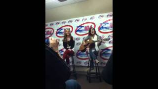 Megan and Liz Are You Happy Now at Z104