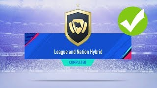 LEAGUE AND NATION HYBRID FIFA 19 SBC | CHEAPEST METHOD + COMPLETED* | FIFA 19 ULTIMATE TEAM