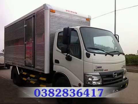 Xe tải hino 3,5 tấn / 3T5 / 3.5 tấn/ 3.5T - Xe tải hino 3T5 Hino 300 series nhập Khẩu