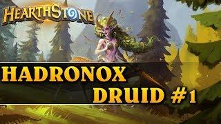 NOWY EXTREMALNY DECK! - HADRONOX DRUID #1 - Hearthstone Decks std