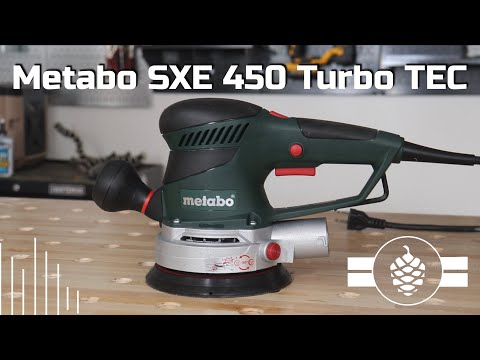 Metabo SXE 450 TURBO TEC - First Thoughts
