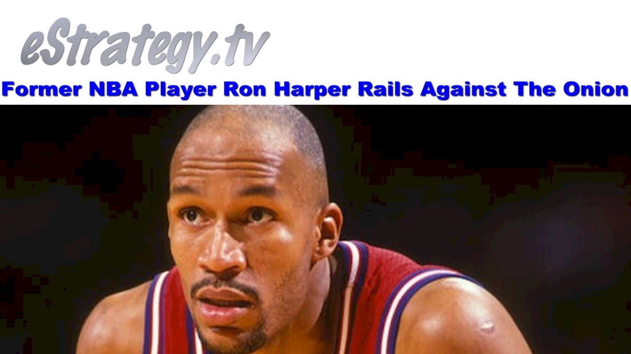 Former NBA Player Ron Harper Rails Against The ion