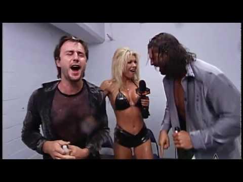 (720pHD): WCW Nitro 04/24/00 - Major Gunns Interviews David Arquette & Chris Kanyon