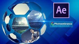 Como editar Template Editável After Effects Futebol Broadcast Soccer