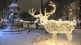 Helsinki Christmas 2018 Lights Tour :: Finland