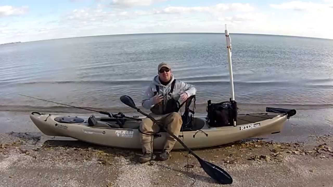 The big 3 of kayak fishing gear youtube for Kayak fishing accessories